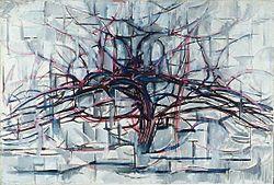皮特·蒙德里安:Horizontal Tree