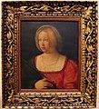Pietro degli ingannati, giovane donna in veste di santa caterina, 1525 ca..JPG