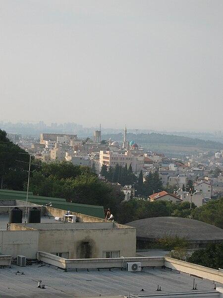 מרכז העיר שפרעם