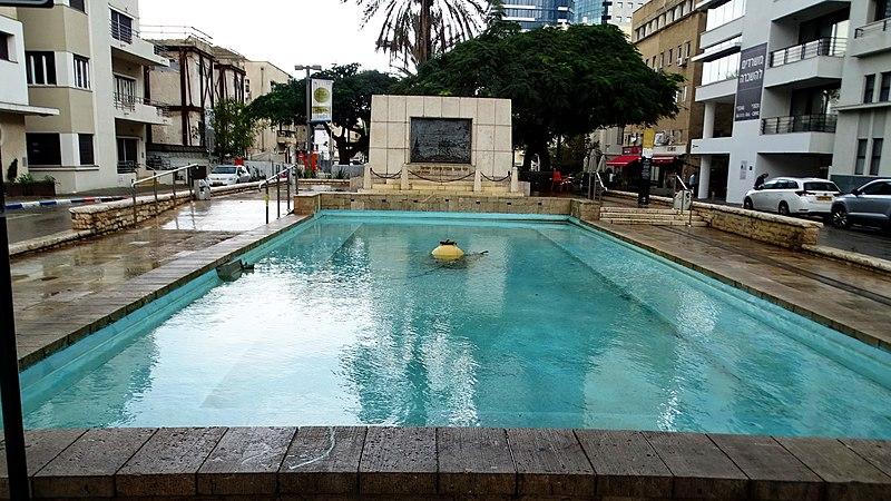 אנדרטה למייסדי תל אביב