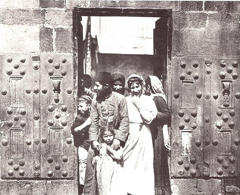 משפחה יהודית בטבריה 1890