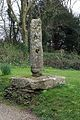 Pillar in the churchyard at Old Kea. - geograph.org.uk - 385325.jpg