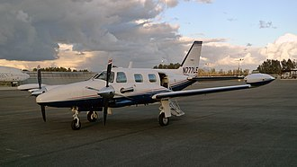 Piper PA-31T Cheyenne - PA-31T Cheyenne at Chino California, October 2013