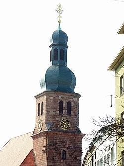 Pirmasens, Turm Lutherkirche.jpg