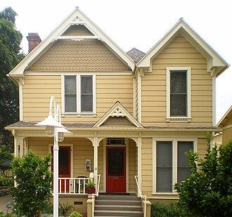 Pisgah Home Historic District - Pisgah Home, 2008