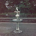 Pitlochry Railway station drinking fountain. 1970.jpg