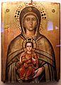 Pittore bizantino, madonna platytera (più grande dei cieli), xvi secolo.jpg