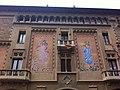 Plaça de Vic. Vic Square. Osona. Catalonian Flags. - panoramio (1).jpg