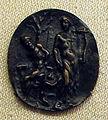 Placchetta dall'antico, apollo e marsia, 1450-1500 ca..JPG