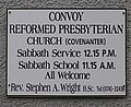 Plaque, Convoy Ref Church - geograph.org.uk - 993075.jpg