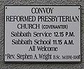Plaque, Convoy Ref Church - geograph.org.uk - 993075.jpg