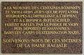 Plaque Fondation de Rothschild, 76 rue de Picpus, Paris 11.jpg