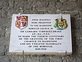 Plaque in Gateway of All Saints College, Maidstone.jpg