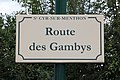 Plaque route Gambys St Cyr Menthon 4.jpg
