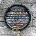Plaque to Robert Hawker in Charles Church Plymouth.jpg