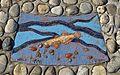 """Plastik """"Fische in der Liesing"""" 02 by Kollegium Kalksburg.jpg"""
