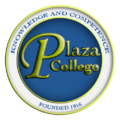 Plaza college logo.png