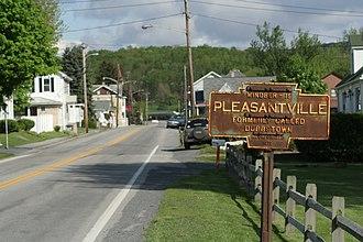 Pleasantville, Bedford County, Pennsylvania - Image: Pleasantville 009
