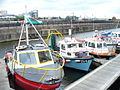 Pleasure boats in Graving Dock - geograph.org.uk - 1423531.jpg