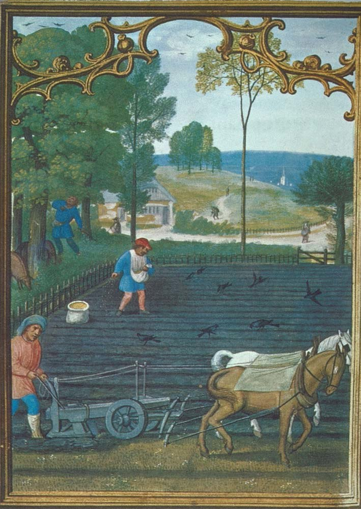 Plow medieval