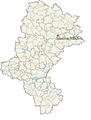 Położenie stadionu na mapie województwa śląskiego.png