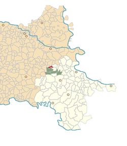 Location of Podrinje