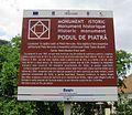 Podul de Piatra - placa.JPG