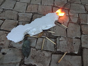 Polystyrene - Polystyrene is flammable.