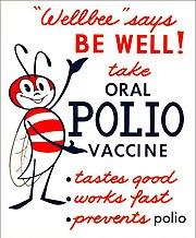Polio vaccine poster