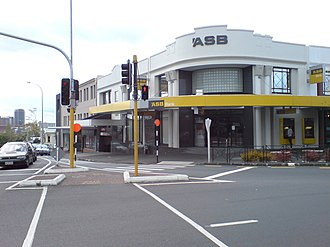 ASB Bank - A branch in Ponsonby, Auckland City.