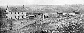 Wabaunsee County, Kansas - Image: Poor Farm Wabaunsee County, Kansas (1901