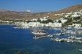 Port in Ormos bay, Gialos on Ios, 13M754.jpg