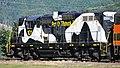 Port of Tillamook Bay Railroad - 101 diesel locomotive (Garibaldi, Oregon, USA) (47749193022).jpg