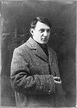Portrait de picasso, 1908