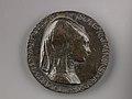 Portrait medal of Isotta degli Atti (obverse); An Elephant (reverse) MET 1284r.jpg