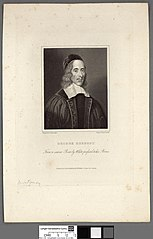 George Herbert from a scarce print by White prefixed to his poems