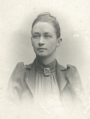 Hilma af Klint - Portrait photo by an unknown photographer, c. 1900 or earlier