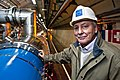 Portrait of Lyn Evans, LHC Project Leader.jpg