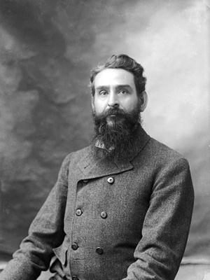George Wharton James - Image: Portrait of the photographer George Wharton James, ca.1890 1905 (CHS 3994)