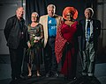 Portrait photoshoot at Worldcon 75, Helsinki, before the Hugo Awards – Guests of Honour.jpg