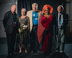75th World Science Fiction Convention - Guests of Honour John-Henri Holmberg, Johanna Sinisalo, Walter Jon Williams, Nalo Hopkinson and science guest Ian Stewart.