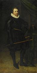 Portrait of Sir John Burroughs (1587-1627)