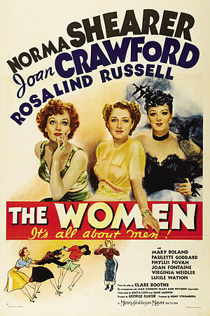Clare Boothe Luce - Poster from the 1939 film The Women