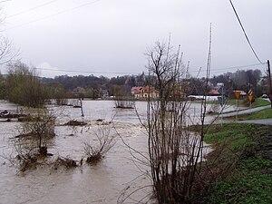 Stupnica - Image: Powodz Bircza 20092