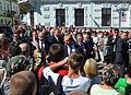 Präsident Komorowski zu Besuch in Sanok (2013)-009.JPG