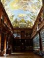 Prag – Kloster Strahov, Klosterbibliothek - Strahovský klášter, Klášterní knihovna - panoramio.jpg