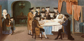 Ashkenazi Jews - The example of the chevra kadisha, the Jewish burial society, Prague, 1772