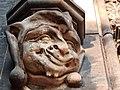 Praha, Vyšehrad, šašek na Bazilice svatých Petra a Pavla na Vyšehradě.jpg