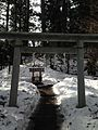 Praying place of Nikko Mountains near Nikko Futarasan Shrine 2.jpg