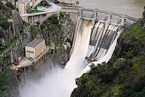 Picote Dam - Image: Presa de Picote